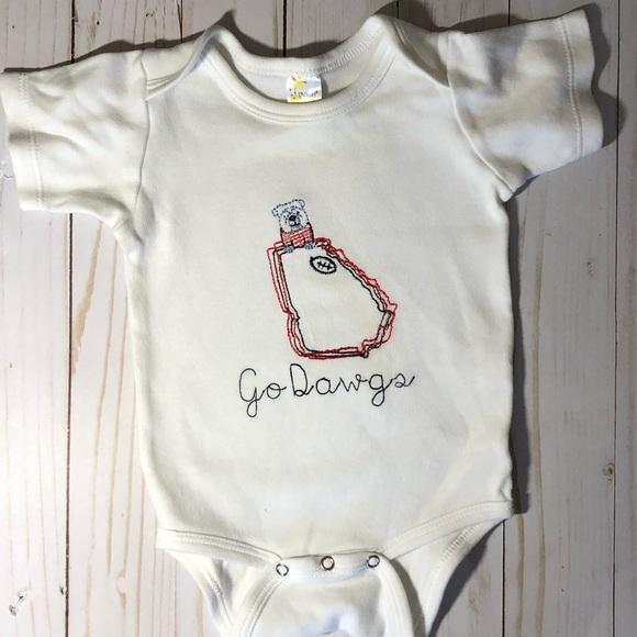 4083b0c14 One Pieces | Go Dawgs Georgia Bulldogs Baby Onesie | Poshmark